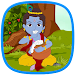 Little Krishna Talking Dancing Icon