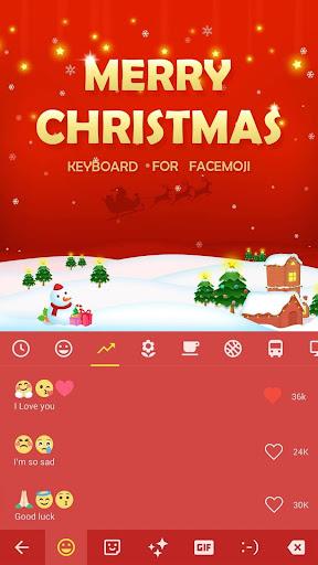 Merry Christmas Wallpaper & Emoji Keyboard Theme for PC