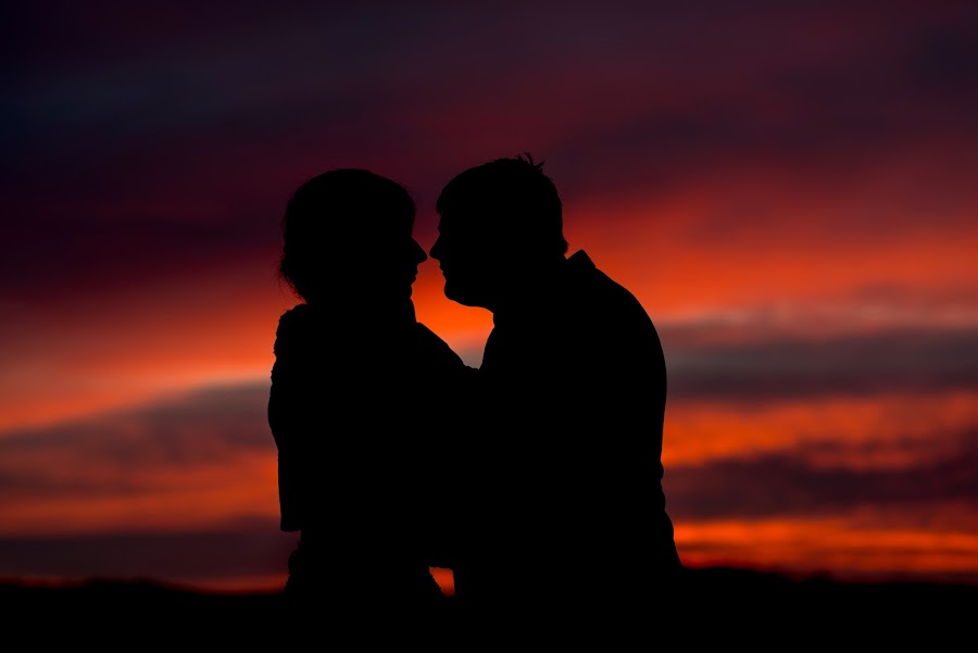 Love by Snjezana Pongrac - People Couples ( love, red, sunset, women, people, man, couples,  )