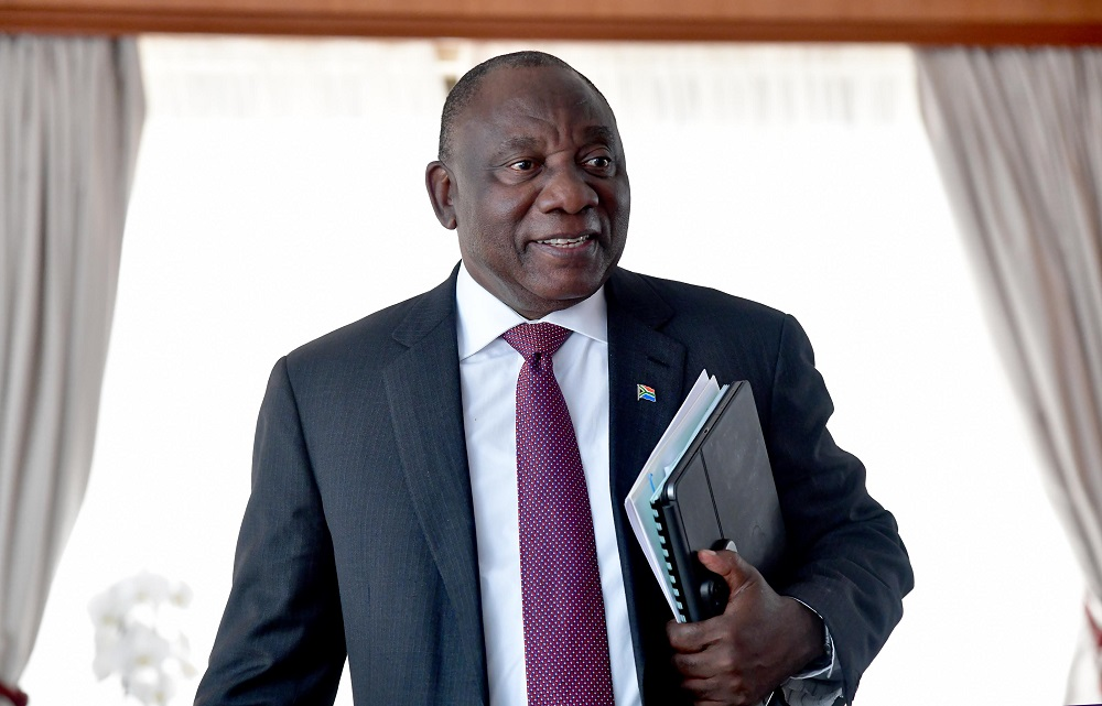 SA must tackle climate change urgently or risk reversal of developmental gains: Ramaphosa
