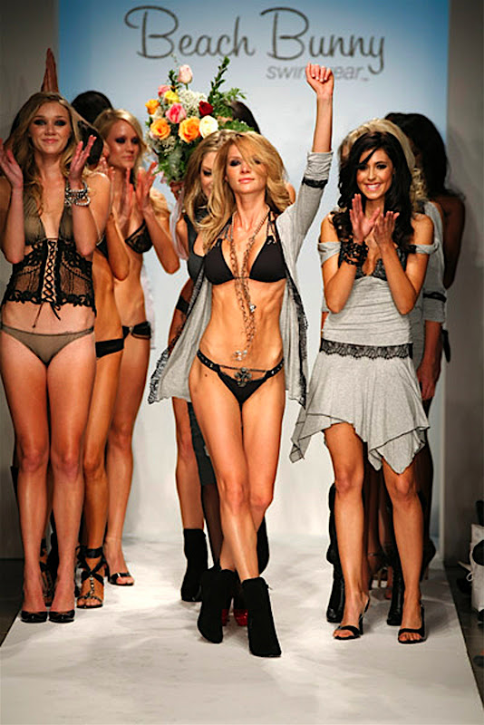 Beach Bunny Swimwear show at Mercedes-Benz LA Fashion Week Spring 2008