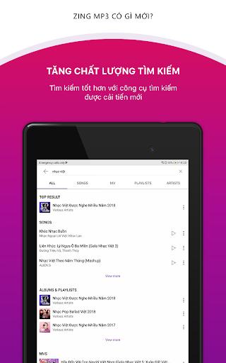 Zing MP3 20.08.01 Screenshots 10