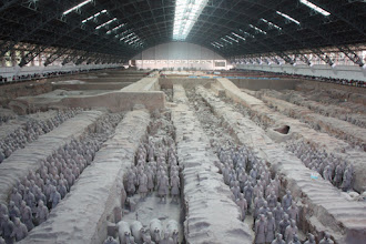 Photo: Day 188 -  Terracotta Warriors in Xi'an - Pit 1