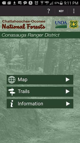 android Conasauga Ranger District Screenshot 0