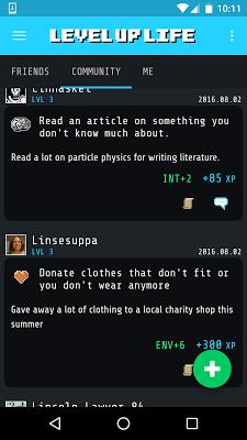 Level Up Life - screenshot