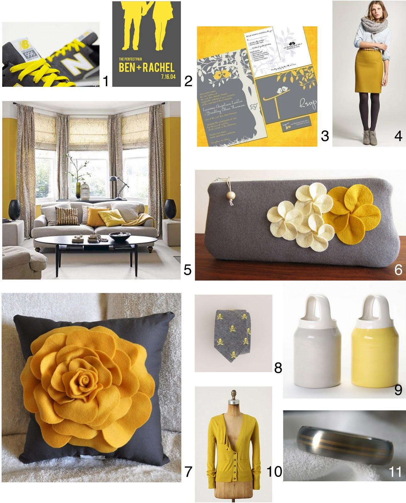 rahena s blog grey and yellow wedding