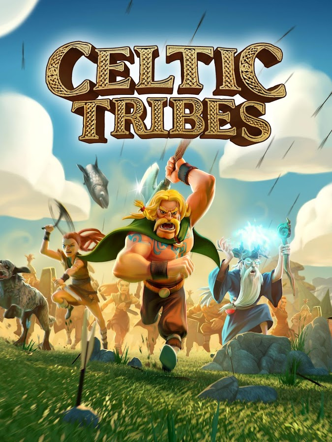 Celtic Tribes - Building MMOG- screenshot