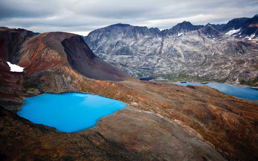 Windex Lake in the Torngats Mountains of northern Newfoundland and Labrador.