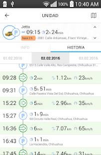 GPSmonitor - náhled