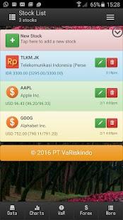 Value at Risk Calculator - náhled