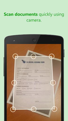 ScanWritr: scan docs, PDF, fax screenshots 1