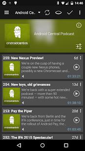 Podcast Addict- screenshot thumbnail