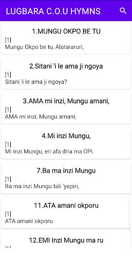 Lugbara Hymns screenshot 1