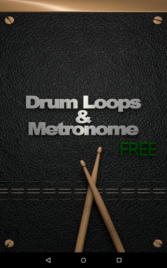 Drum Loops & Metronome Free- screenshot