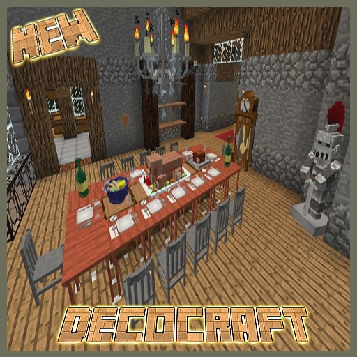 Mod DecoCraft for MCPE