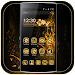 Theme Luxury Gold Rose icon