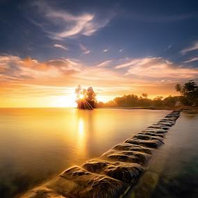 Sunset by David Loarid - Landscapes Sunsets & Sunrises