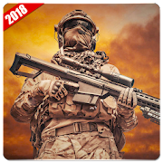 Cover Fire Sniper Shooter : Modern Combat FPS Game
