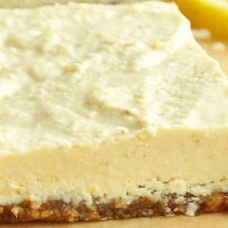 Luring Raw Lemon Bars (Vegan,Gluten-free)