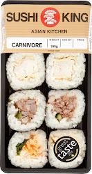 Sushi King Asian Kitchen Carnivore - 195g