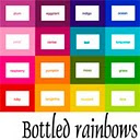 Bottled Rainbows {the button}