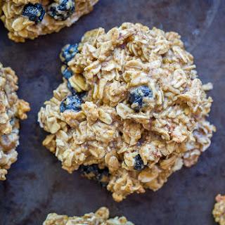 Lemon Blueberry – Healthy Make Ahead Breakfast Cookies.