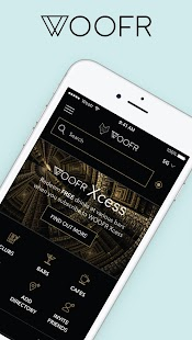 WOOFR - Nightlife & Lifestyle App - náhled