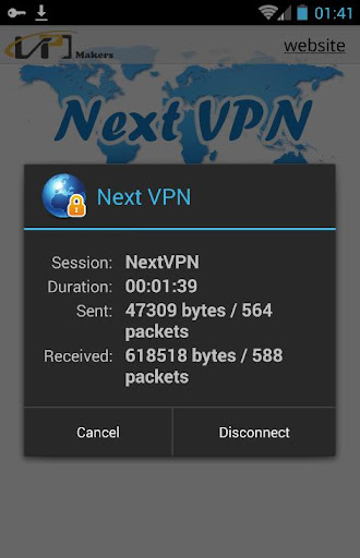 Next VPN screenshot 3