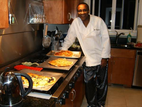 Dr. Willie, Operating In His Kitchen.