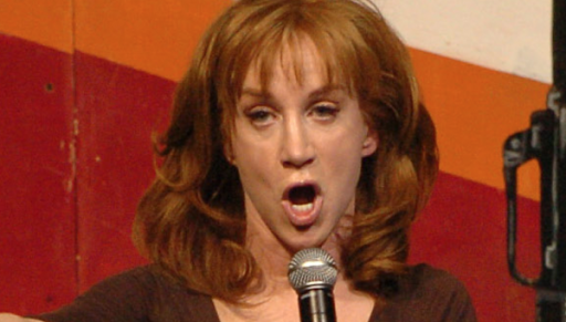 Kathy Griffin, despite controversy over obscene photo, vows to haunt Trump