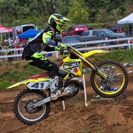 Not so mellow yellow by Jim Jones - Sports & Fitness Motorsports ( motorsport, motocross, motorcycles, mx, moto )