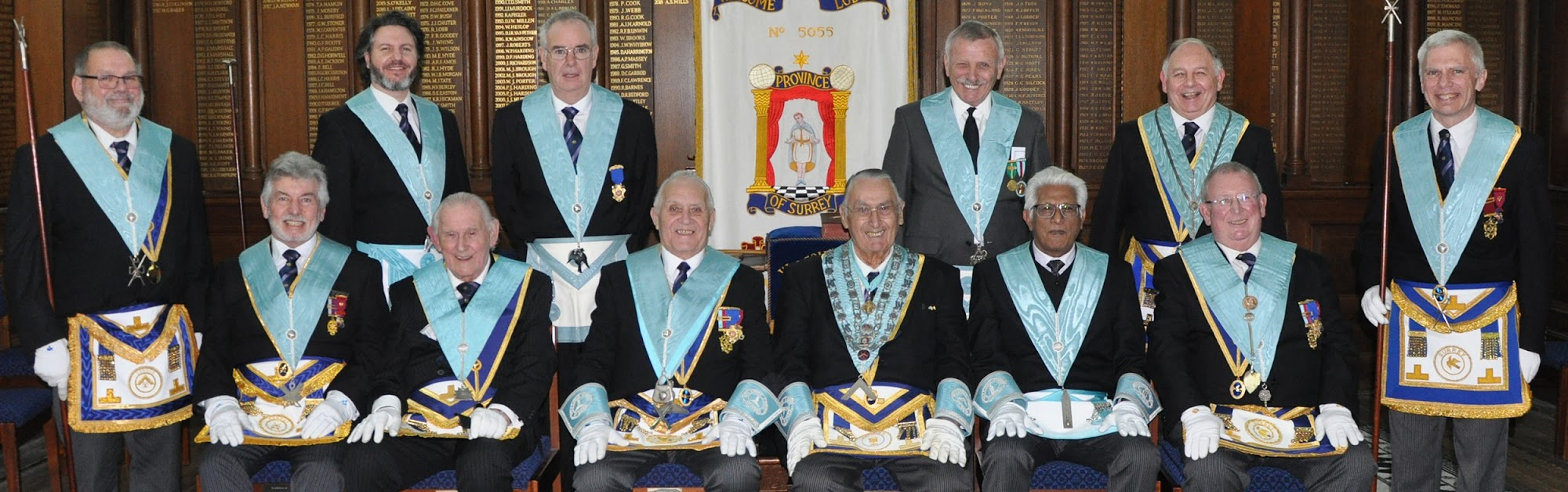 Welcome Lodge Officers 2018