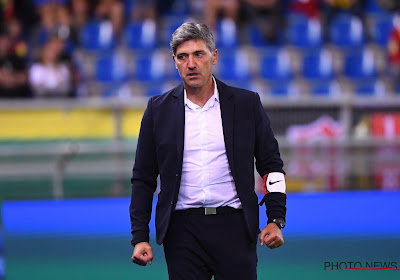 Mazzu richt woordje tot de supporters na deugddoende zege tegen KV Oostende