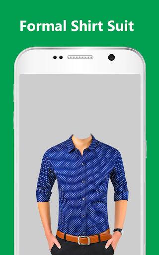 Man Formal Shirt Photo Suit Maker 1.0.20 screenshots 1