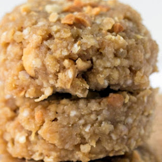 No-Bake Peanut Butter Quinoa Cookies