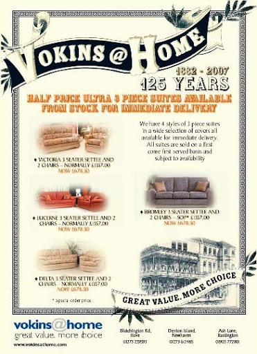vokins@home 125 anniversary sale