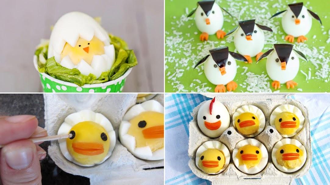 3 tạo hình với trứng gà bé nào cũng mê