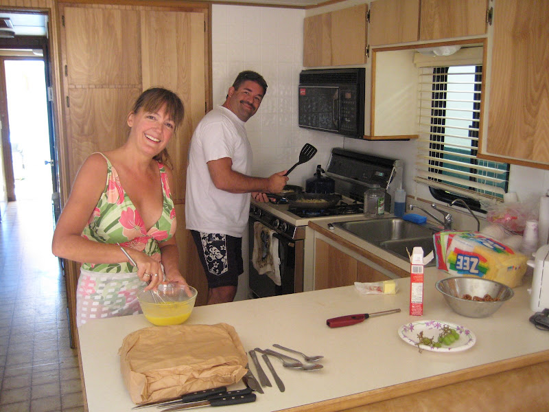 Dan and Shanni Roe cook a real ...