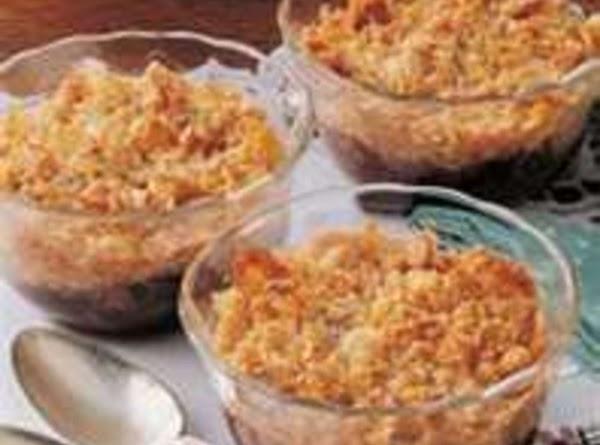 Country Plum Crumble Recipe