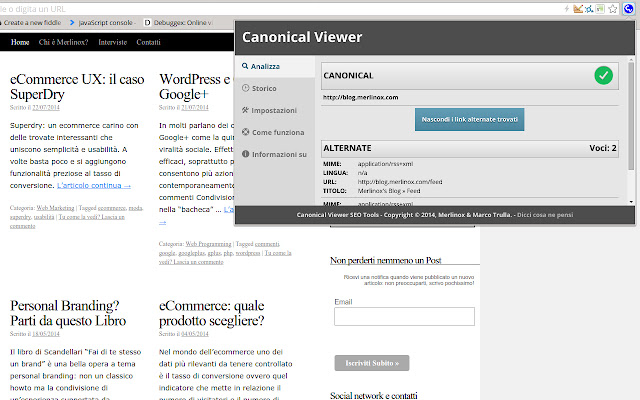 Canonical Viewer