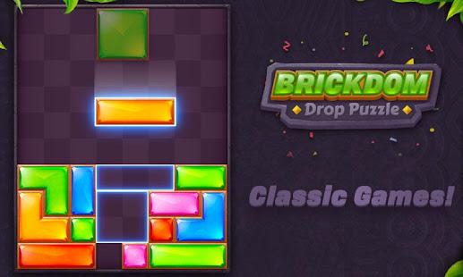 Download Brickdom - Drop Puzzle For PC Windows and Mac apk screenshot 24