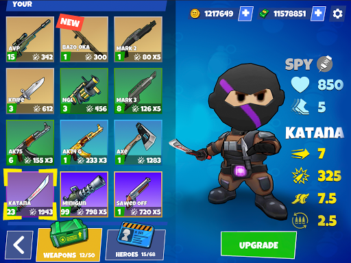 Warriors.io - Battle Royale Action android2mod screenshots 24