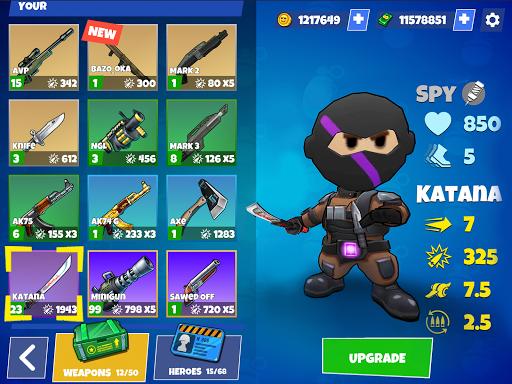 Warriors.io - Battle Royale Action filehippodl screenshot 24