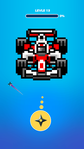 Hit the Pixel - Guns & Bricks apkdebit screenshots 5