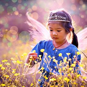 Little Princess by Sunny Zheng - Digital Art People