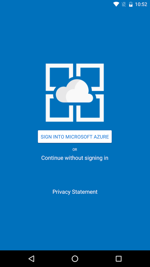 Azure App Service Companion- screenshot