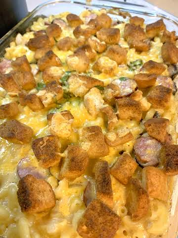 Leftover Baked Mac&Cheese