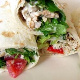 Warm Chicken Wrap Recipes.