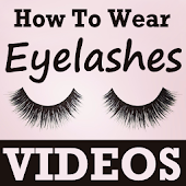 How To Wear Eyelashes Videos