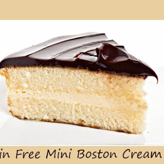 Grain Free Mini Boston Cream Pies